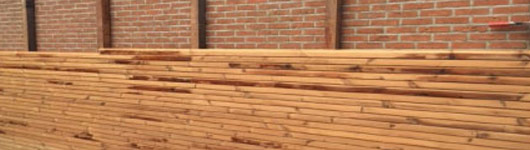 houten gevelbekleding Brecht