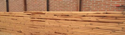 houten gevelbekleding Evergem