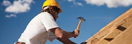 nieuwe dakconstructie door dakwerker